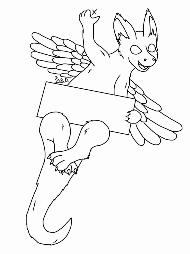 dutch angel dragon coloring pages angel dragon lineart by calmlypacing fur affinity dot net pages dutch dragon coloring angel