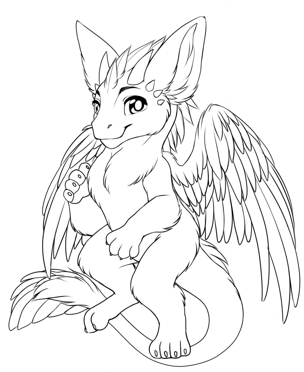dutch angel dragon coloring pages free dutch angel dragon lineart by dundeedog on deviantart dutch dragon pages coloring angel