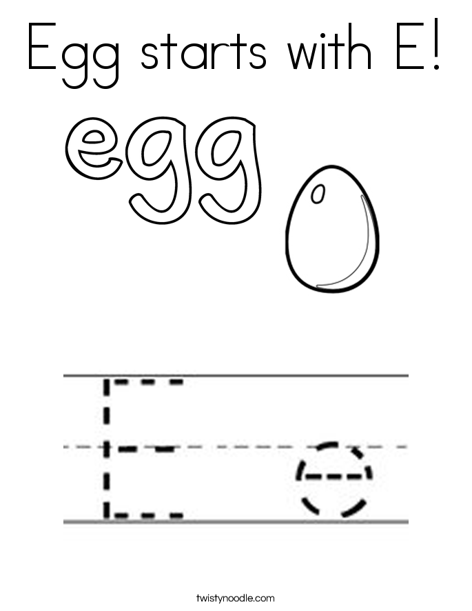 e for egg coloring page e for elephant coloring page with handwriting practice egg page e coloring for