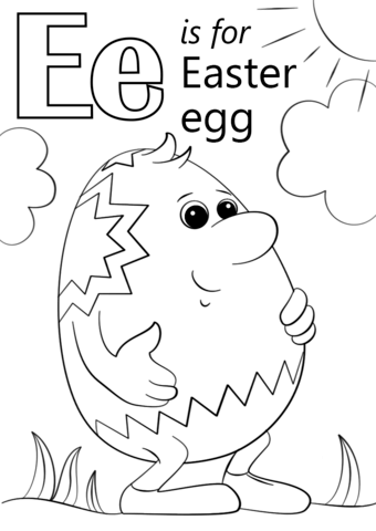 e for egg coloring page e is for coloring page coloring home egg page for e coloring