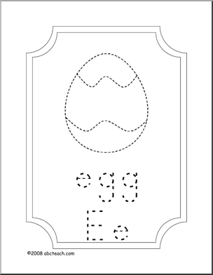 e for egg coloring page easter egg coloring letter e printable abcteach for egg page coloring e