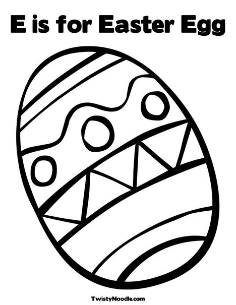 e for egg coloring page isimez easter eggs colouring template coloring egg page e for