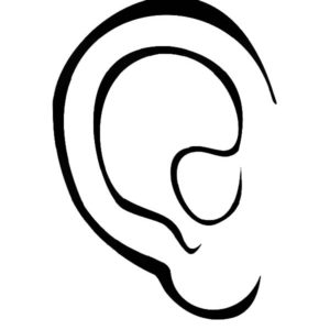 ear pictures to color ear hear wave of sound coloring pages kids play color pictures ear color to