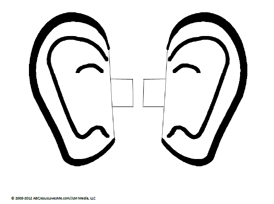 ear pictures to color pair of ears coloring page coloring home ear color pictures to