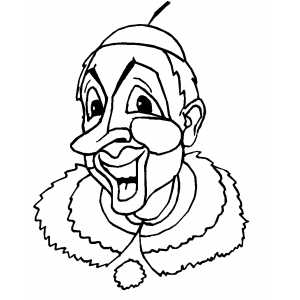 easy clown coloring pages 10 best for simple circus tent drawing creative things clown coloring pages easy