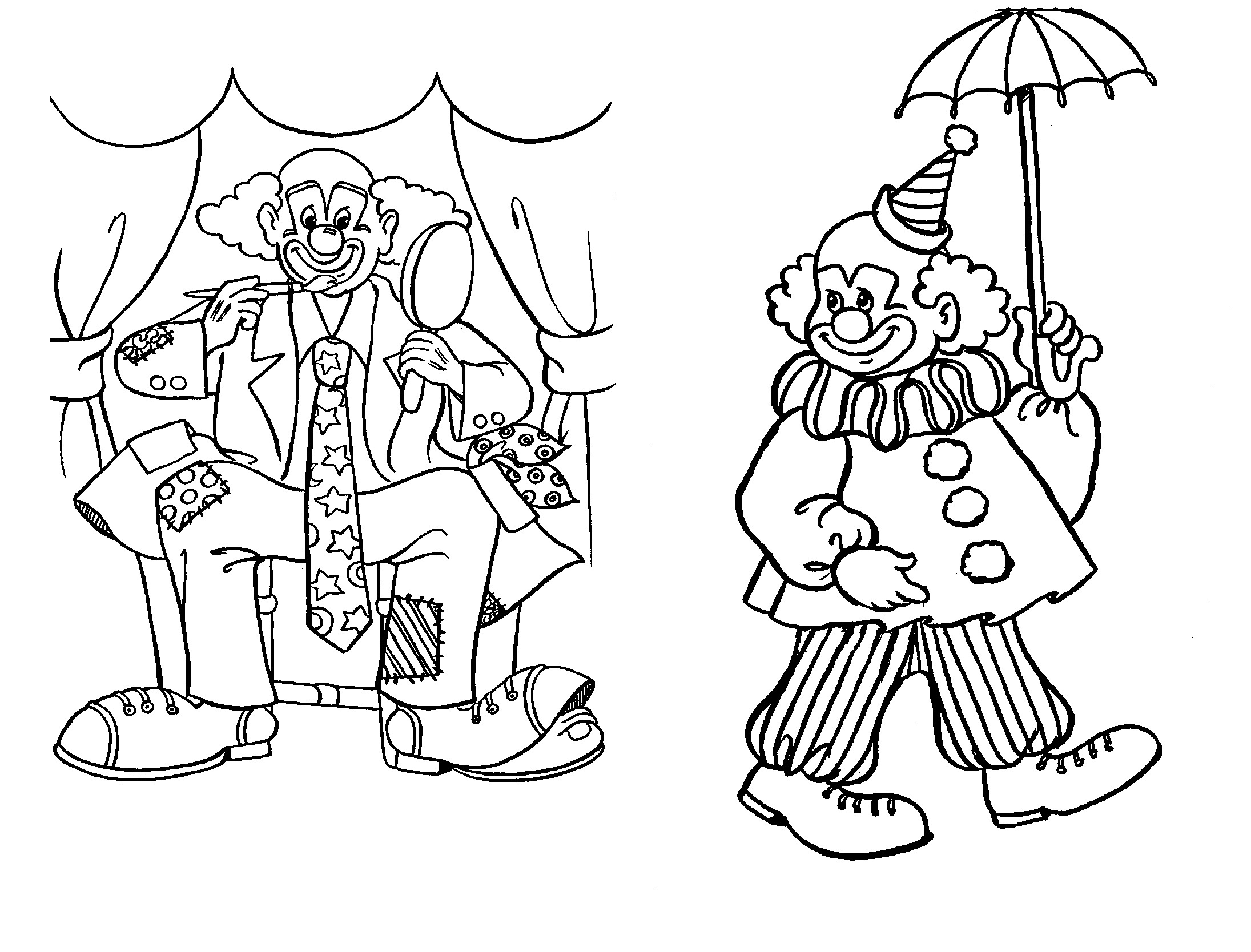 easy clown coloring pages circus clown face coloring page coloring sheets pages clown easy coloring