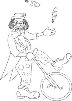 easy clown coloring pages clown car coloring page woo jr kids activities easy pages coloring clown