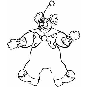 easy clown coloring pages cool clown drawings free download on clipartmag pages clown coloring easy