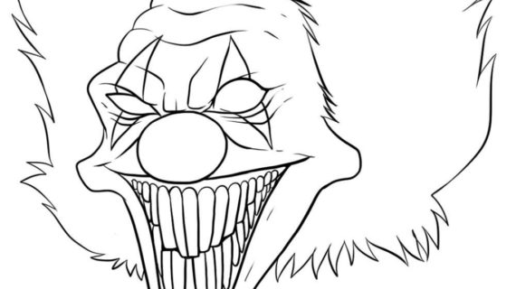 easy clown coloring pages easy clown drawing at getdrawings free download pages coloring clown easy