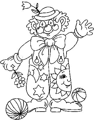 easy clown coloring pages scary clown drawing at getdrawings free download pages clown easy coloring