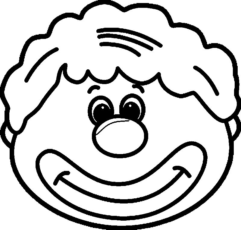 easy clown coloring pages stuffed clown coloring page coloring clown pages easy