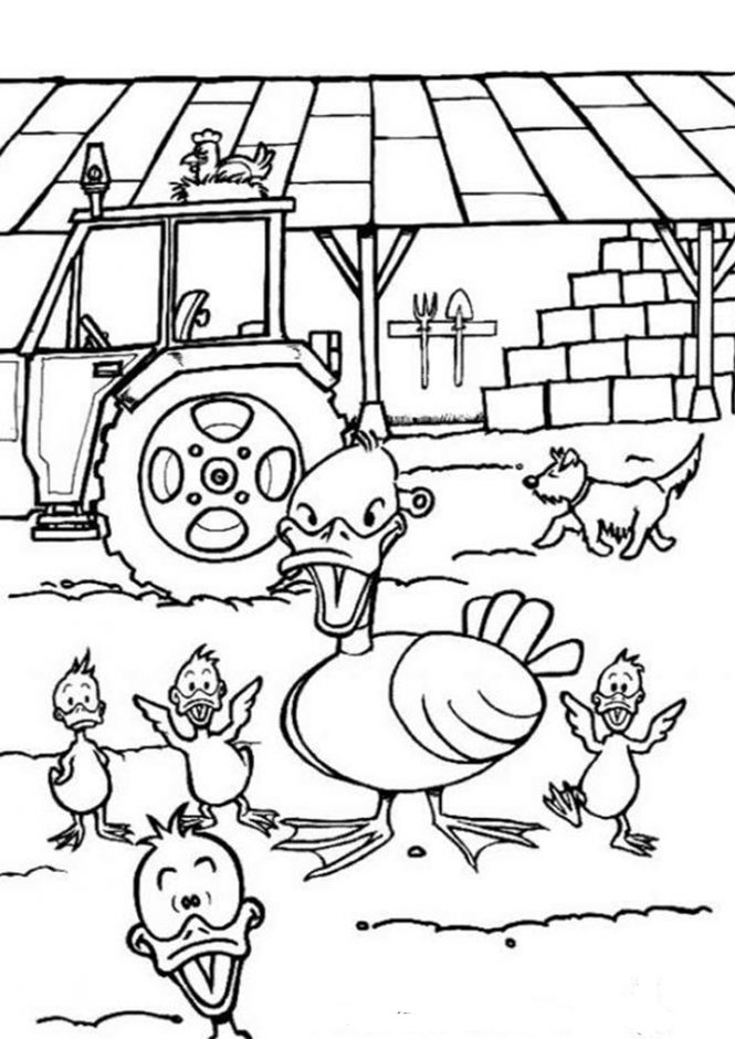 easy duck coloring pages duck cartoon graphics duck coloring page gambar hewan coloring easy duck pages
