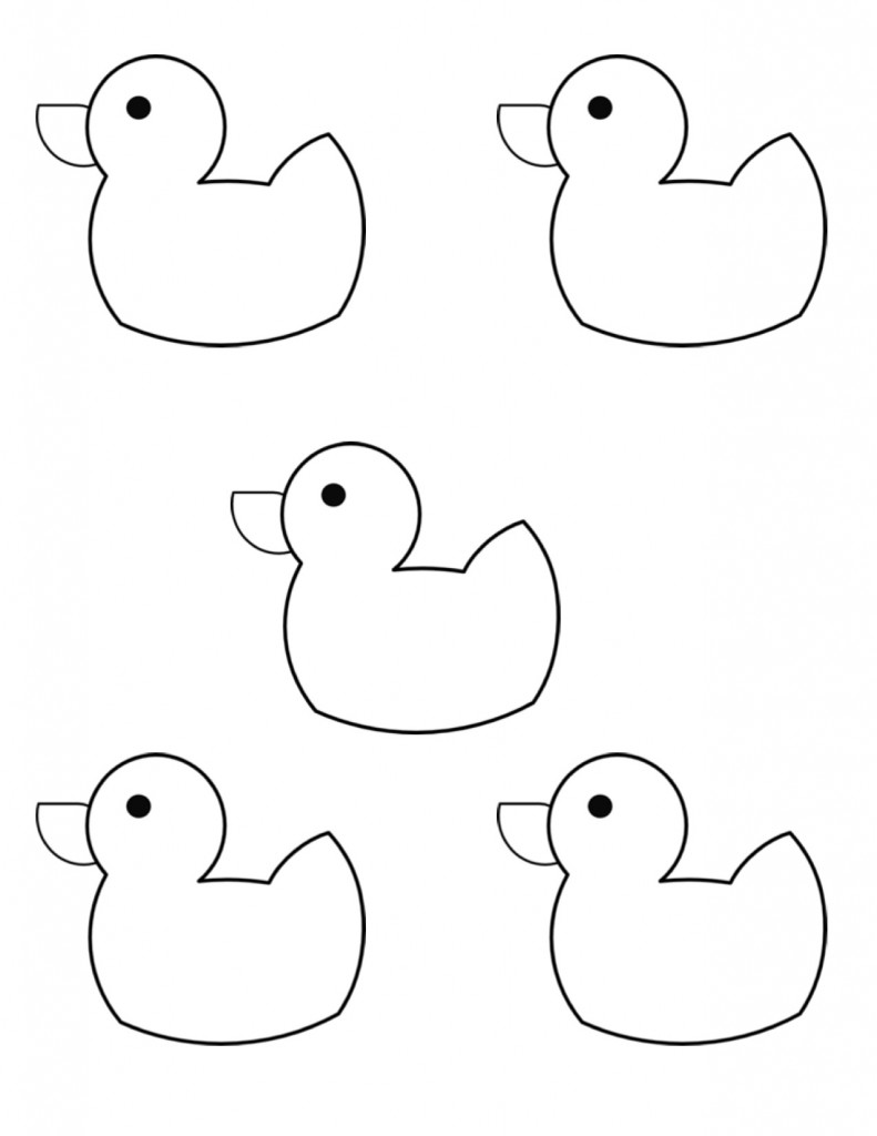 easy duck coloring pages free easy to print duck coloring pages tulamama coloring pages easy duck