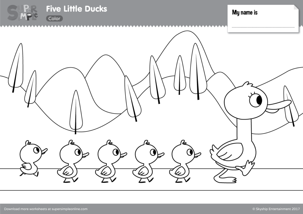 easy duck coloring pages learning years stuffed duck coloring page simple shape coloring pages easy duck