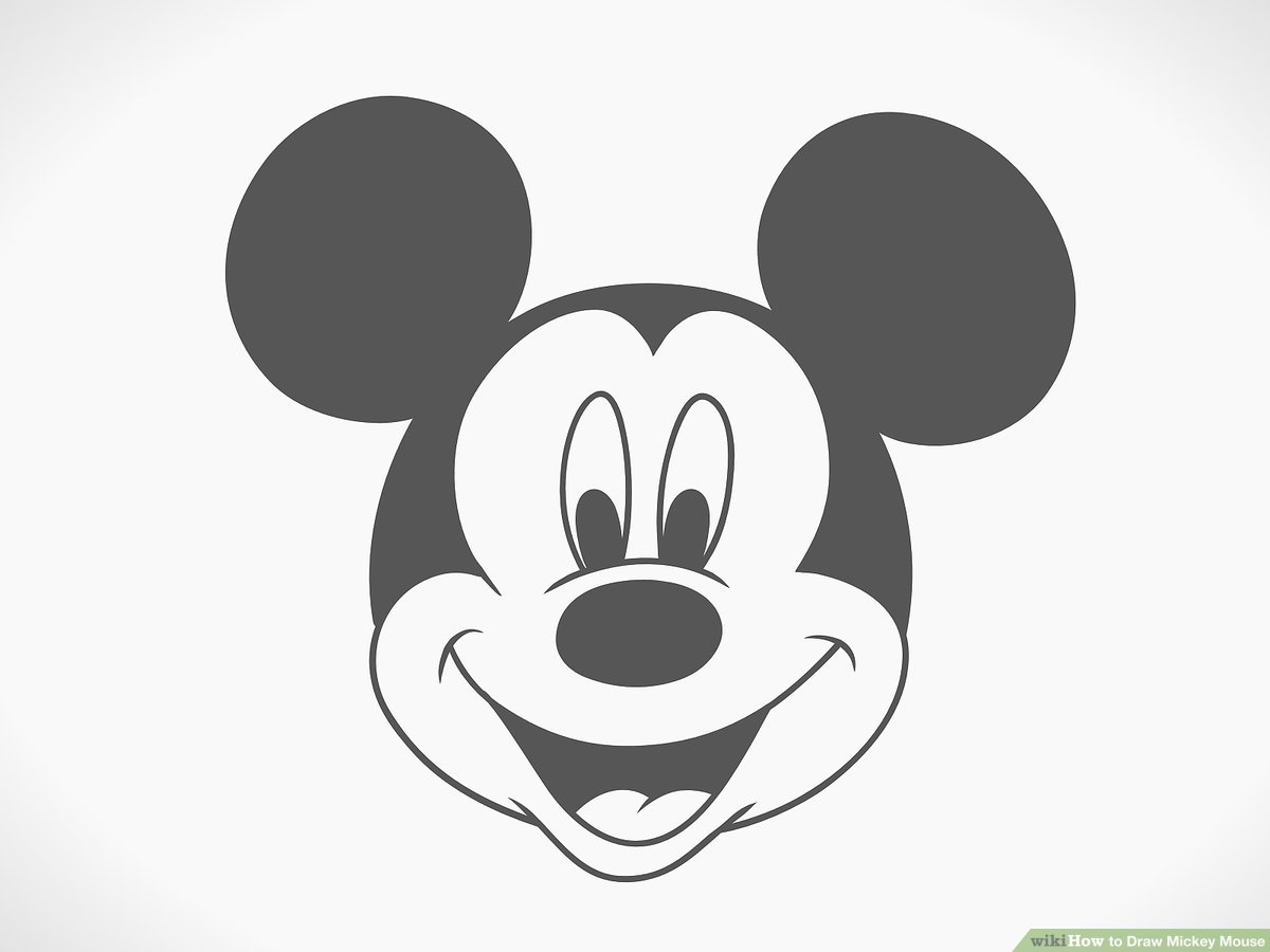 easy mickey mouse drawing mickey mouse easy drawing at getdrawings free download mouse drawing mickey easy 1 1