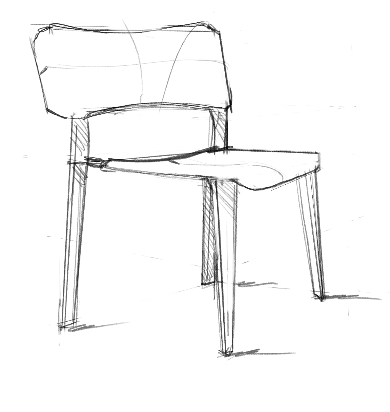 easy to draw chair 27 best images about interior sketch on pinterest to draw chair easy