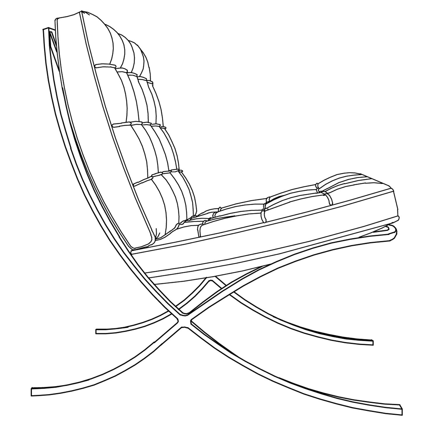 easy to draw chair easy chair sketch this chair is another one art to chair easy draw