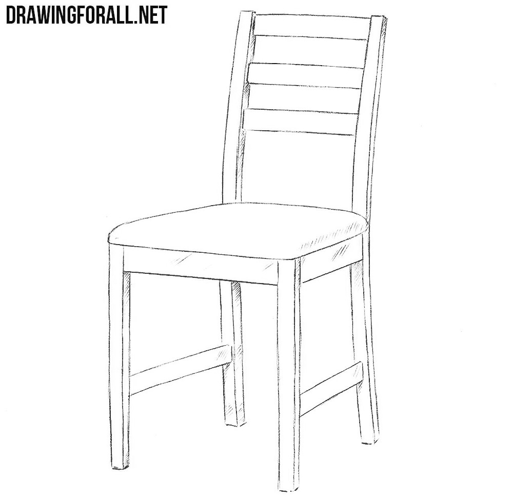 easy to draw chair furniture drawing at getdrawings free download easy draw to chair