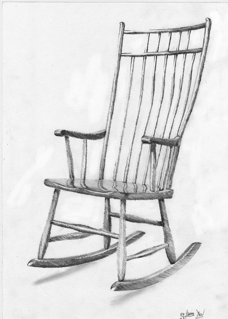 easy to draw chair isometric drawing of a chair at getdrawings free download draw to chair easy