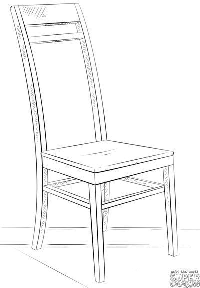 easy to draw chair learn how to draw beach chair everyday objects step by draw to easy chair