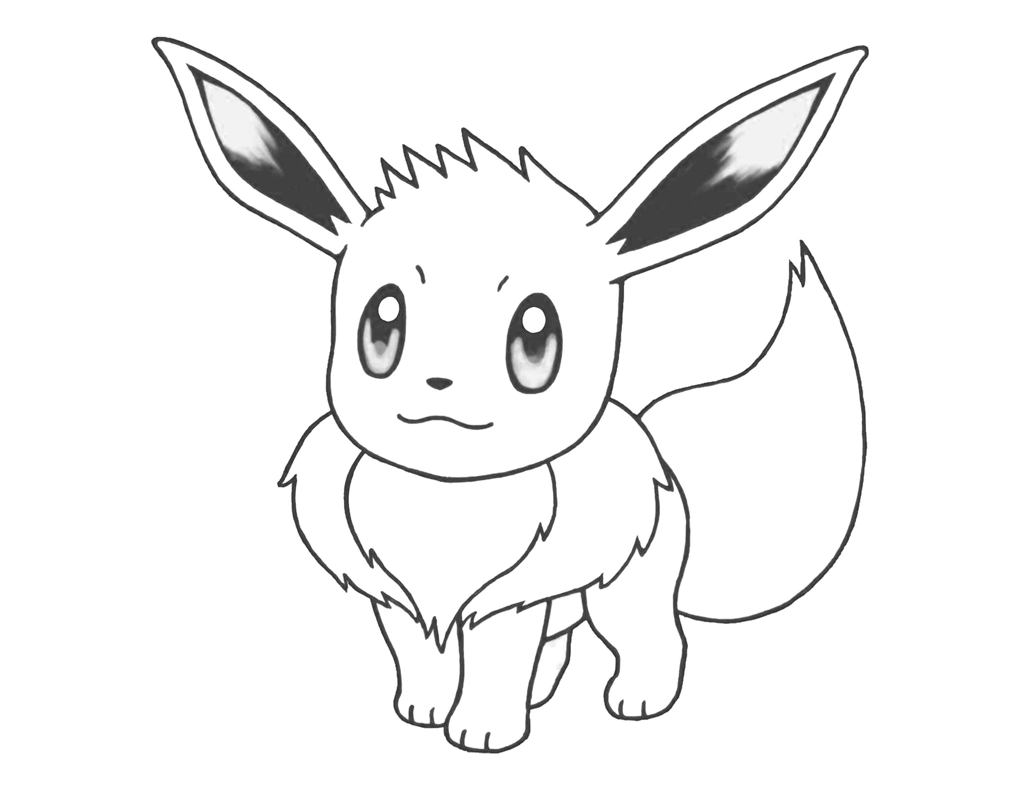 eevee printable coloring pages 20 free pictures for eevee coloring pages temoonus eevee pages coloring printable