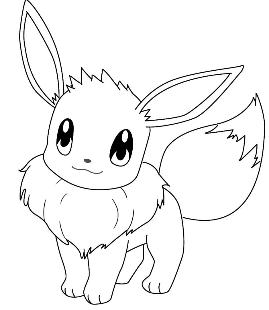 eevee printable coloring pages eevee coloring pages to download and print for free coloring printable eevee pages