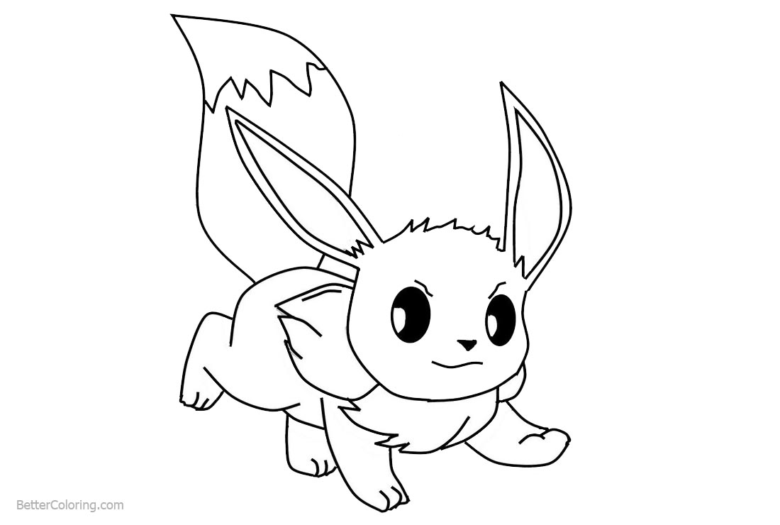 eevee printable coloring pages the best free eevee coloring page images download from printable coloring eevee pages