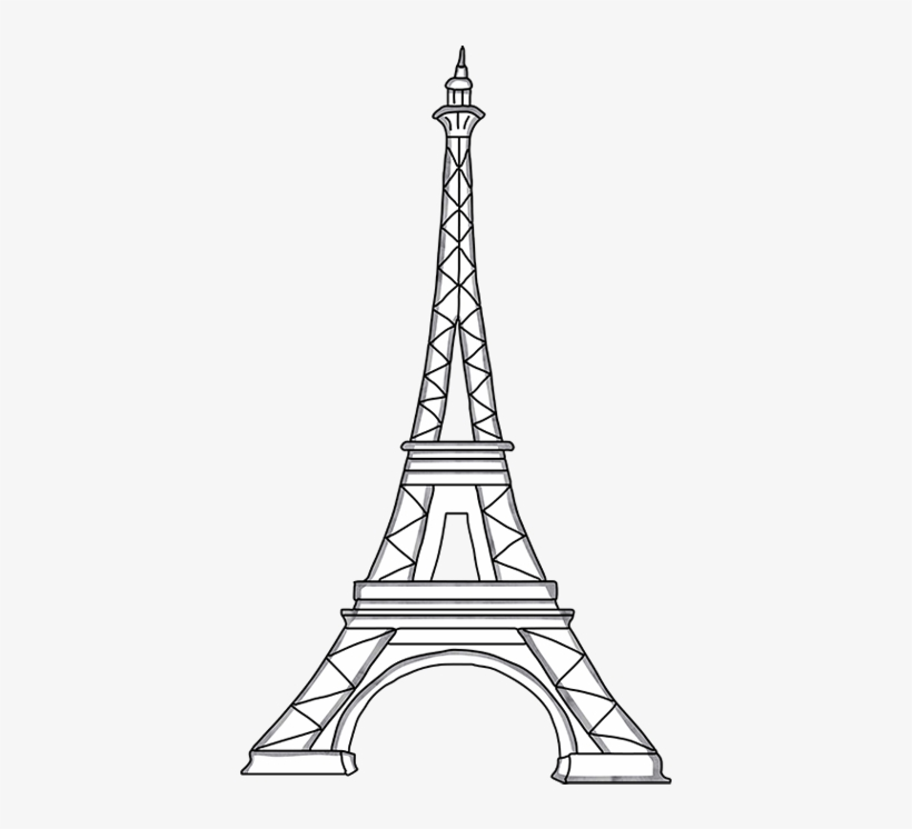 eiffel tower printable printable eiffel tower coloring pages for kids cool2bkids eiffel tower printable