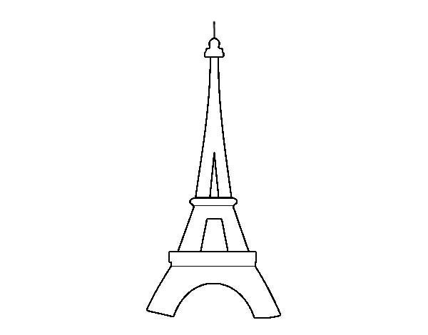 eiffel tower printable printable eiffel tower coloring pages for kids cool2bkids tower printable eiffel