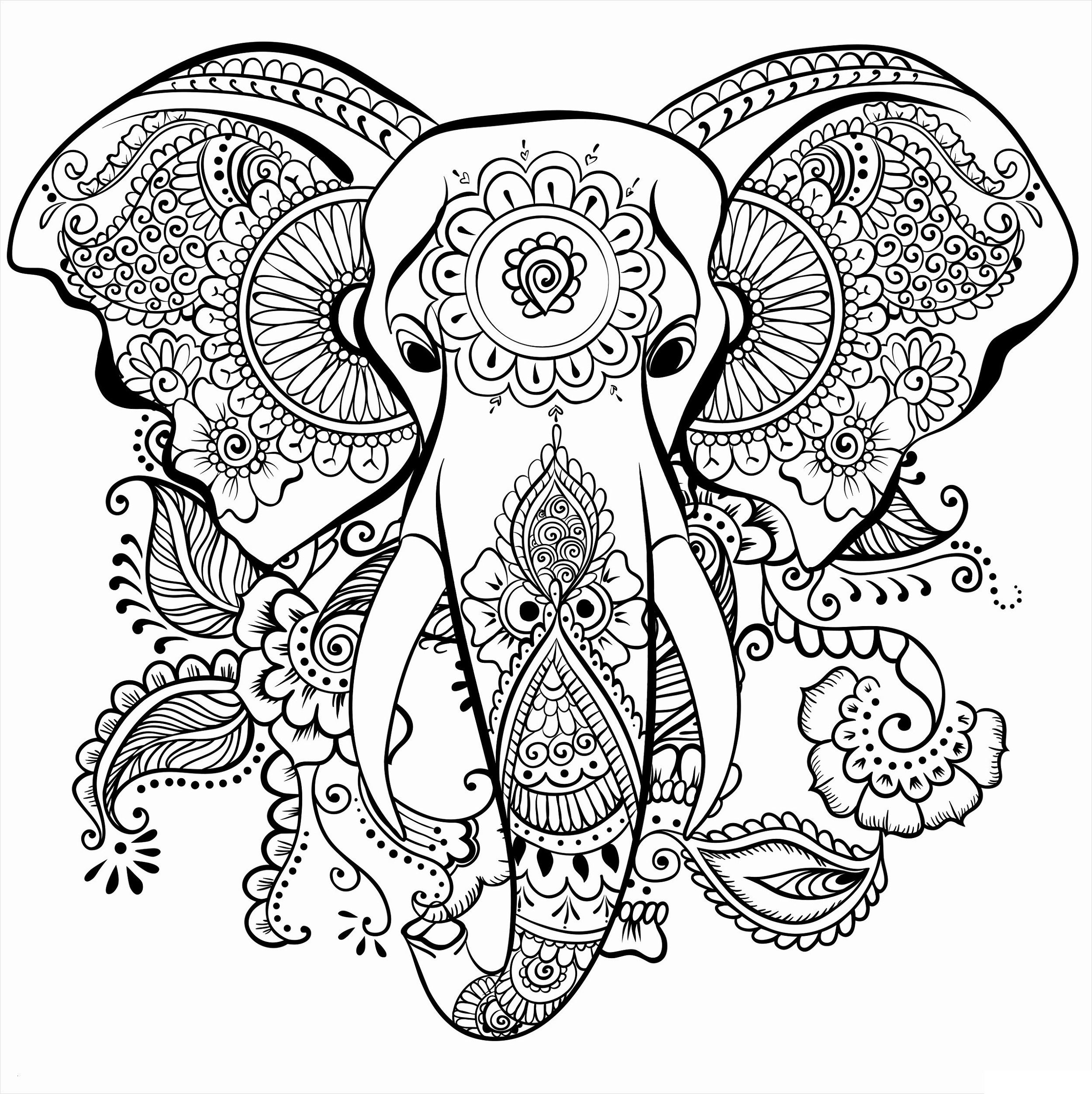 elephant coloring elephant and the baby elephant coloring elephant