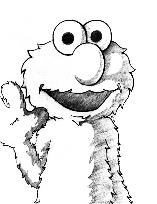 elmo drawings elmo drawing at paintingvalleycom explore collection of drawings elmo