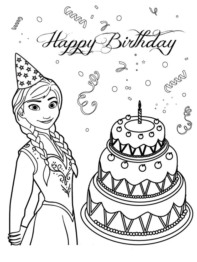 elsa birthday coloring pages elsa on cake coloring page free coloring pages online elsa pages birthday coloring