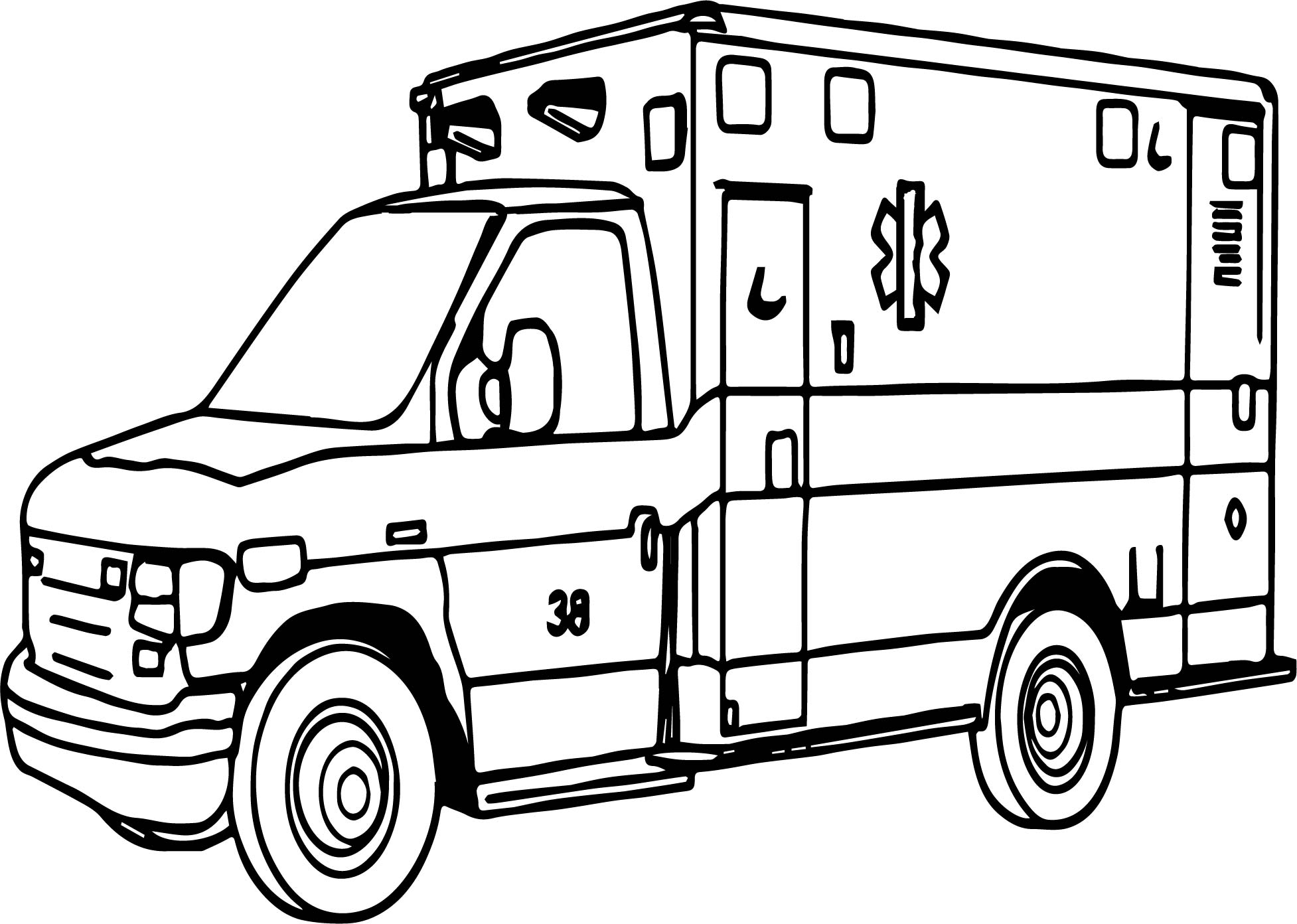emergency vehicle coloring pages emergency vehicle coloring pages at getcoloringscom coloring emergency vehicle pages