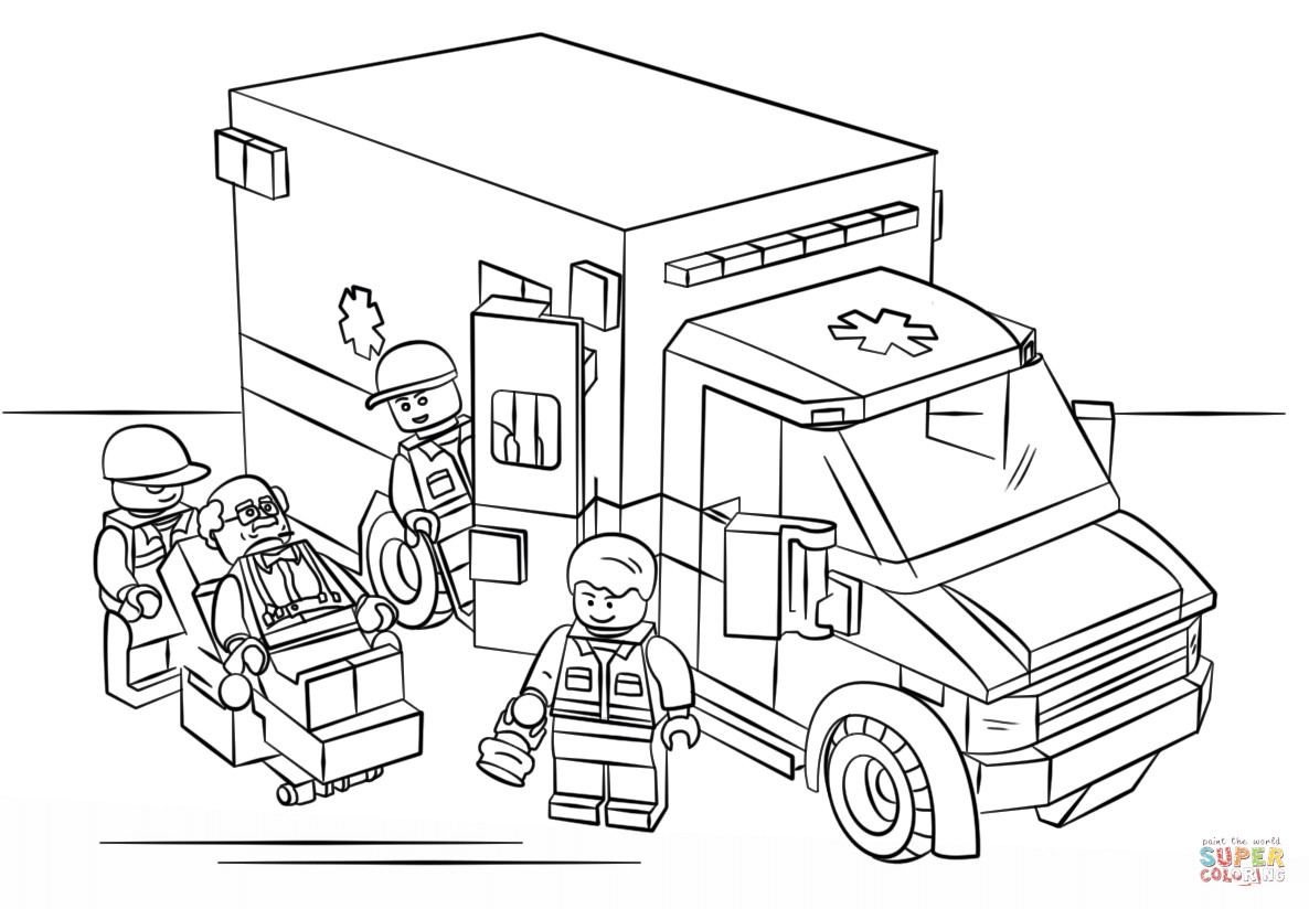 emergency vehicle coloring pages emergency vehicles coloring sheet by steven39s social pages vehicle coloring emergency