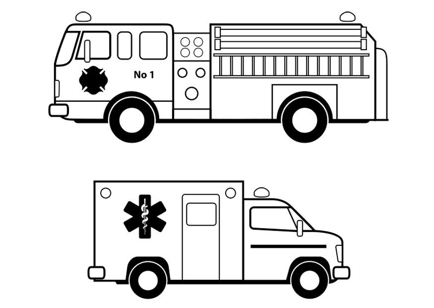 emergency vehicle coloring pages patent us7825790 emergency vehicle light bar with vehicle pages coloring emergency