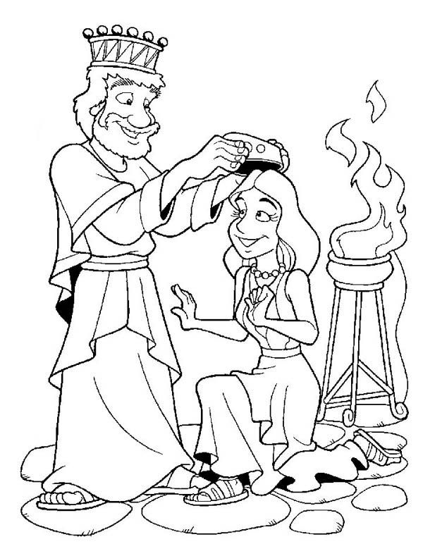 esther bible coloring pages esther coloring page coloring home esther pages coloring bible
