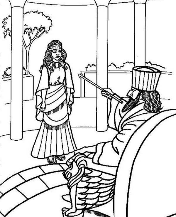esther bible coloring pages queen esther coloring page for children free to print and coloring pages bible esther