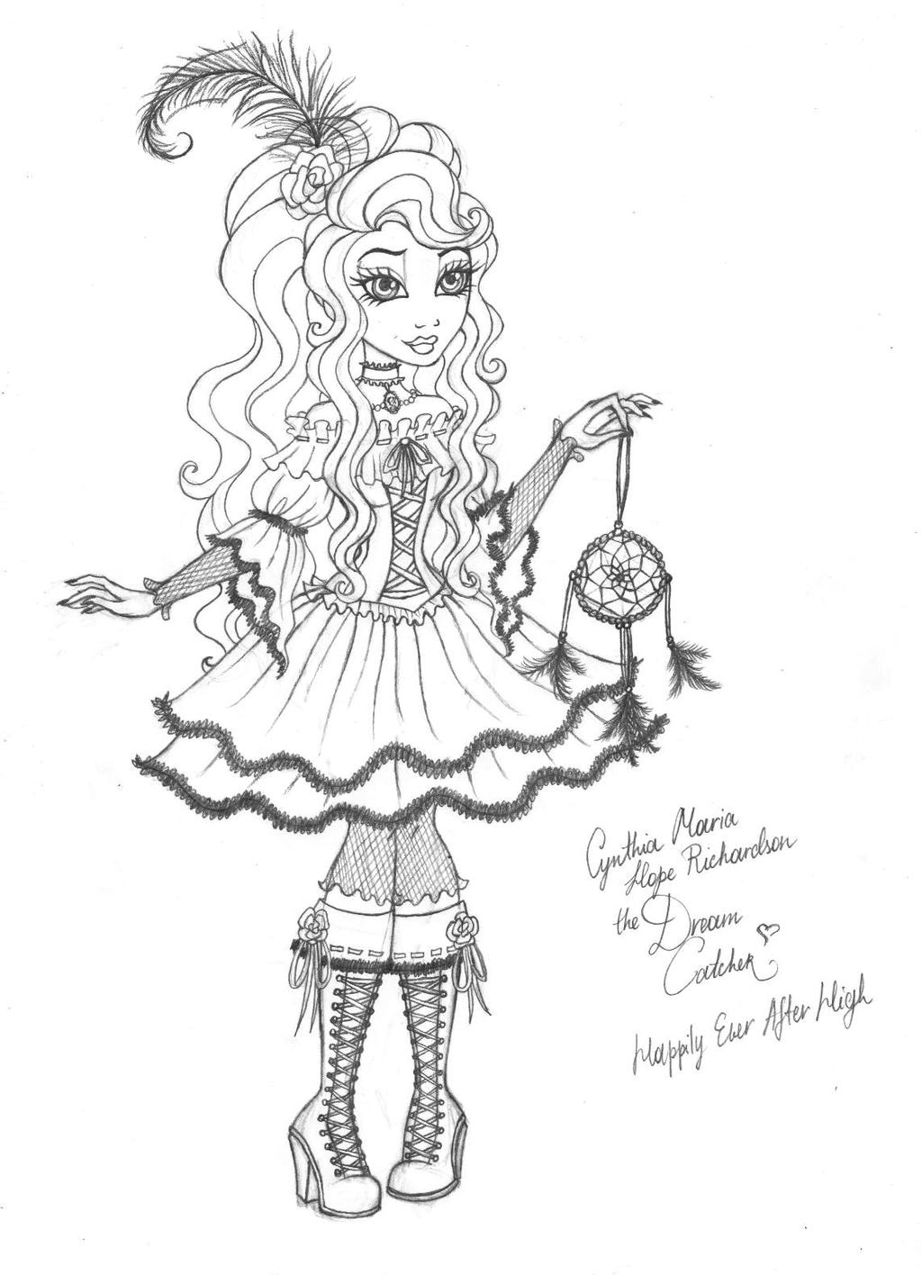 ever after high cynthia happily ever after high by cindy brilliant on ever after high