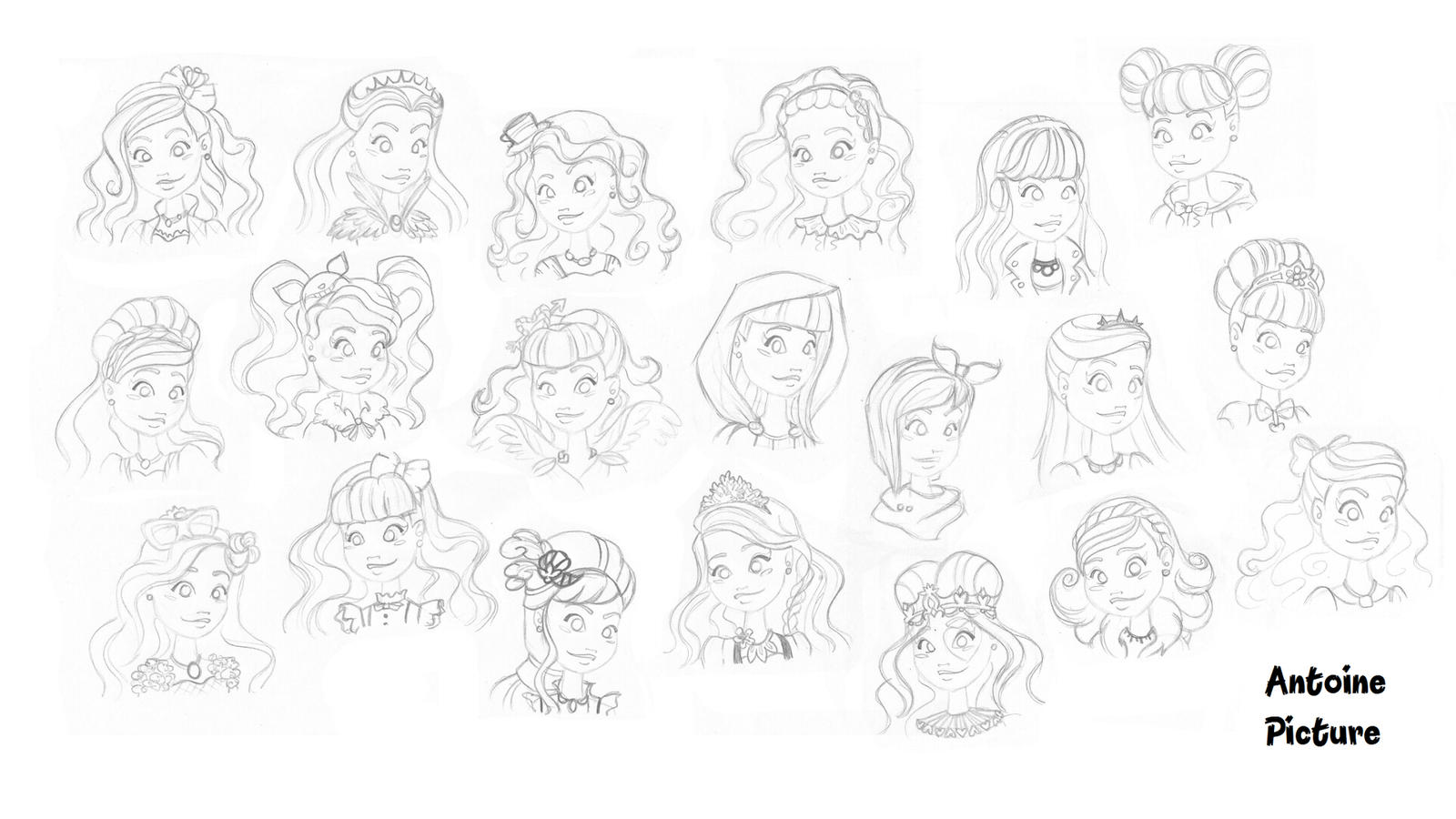 ever after high ever after high girls characters by antoinepicture on after ever high
