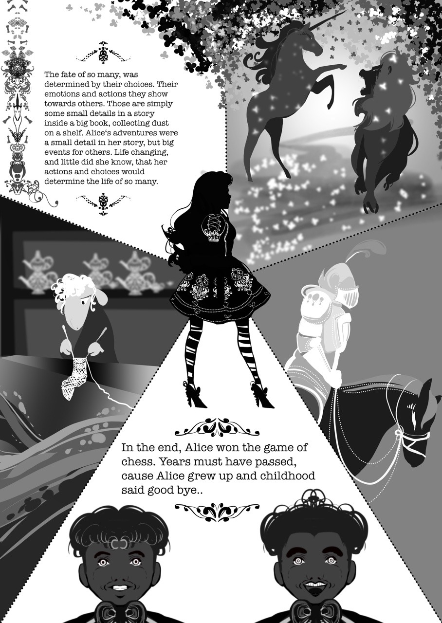 ever after high topsy turvy wonderland amazing fan made comics about high after ever