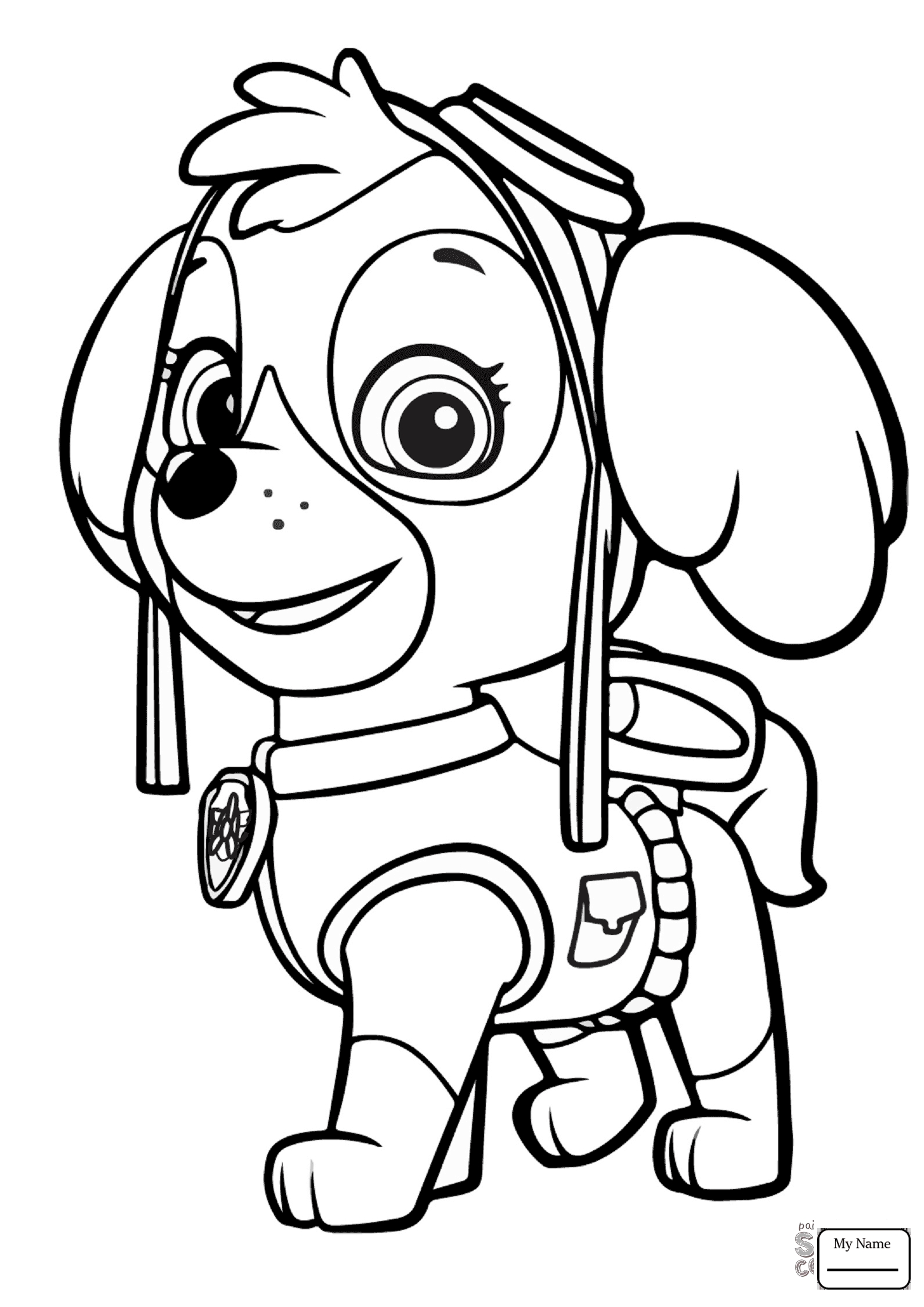 everest paw patrol coloring paw patrol everest coloring page free printable coloring everest patrol coloring paw