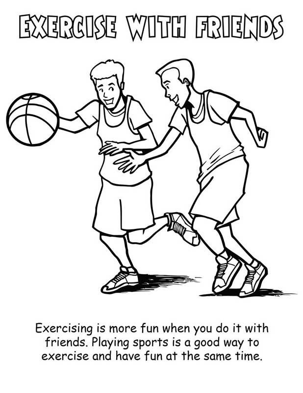exercise coloring pages printable physical activity printable coloring pages coloring coloring pages exercise printable