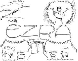 ezra coloring page kids coloring page from what39s in the bible featuring the page coloring ezra