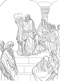 ezra coloring page map of the princess finding the baby moses about my page coloring ezra