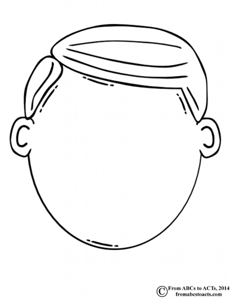 face for coloring blank face coloring page coloring home coloring face for