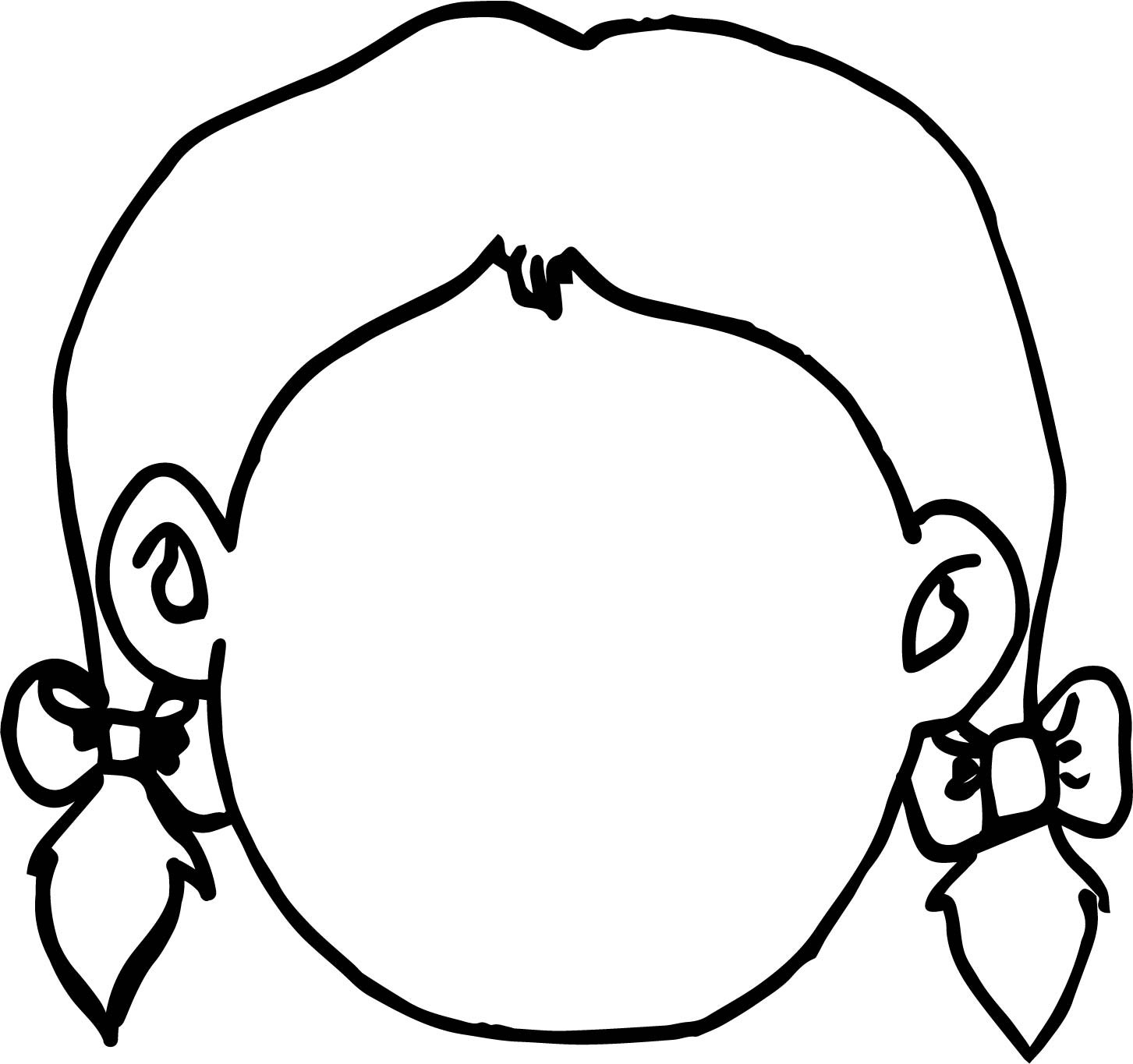 face for coloring girl face coloring pages at getcoloringscom free face coloring for