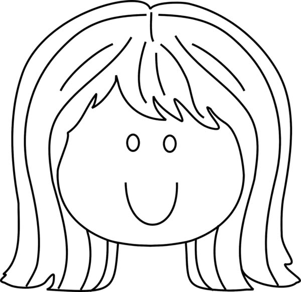 face for coloring kids face coloring page at getcoloringscom free coloring face for
