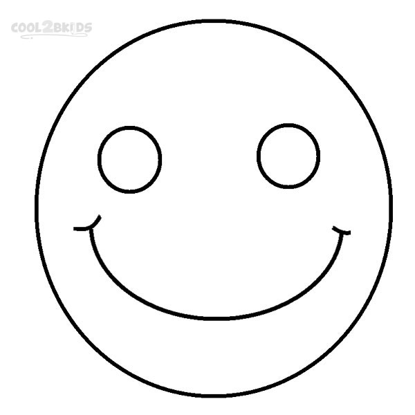 face for coloring printable smiley face coloring pages for kids cool2bkids face coloring for