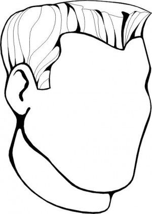 face to colour in human face coloring page at getcoloringscom free in colour to face