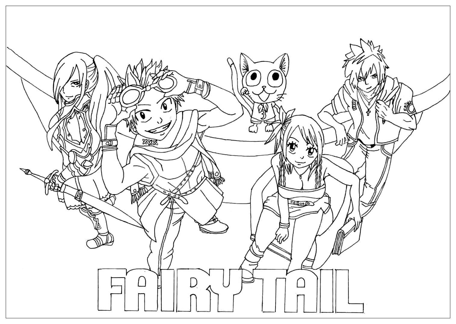 fairy tail coloring sheets fairy tail lineart by tobeyd on deviantart coloring sheets fairy tail